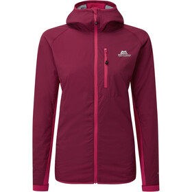 Mountain Equipment Switch Hooded Jacket Dame cranberry/virtual pink